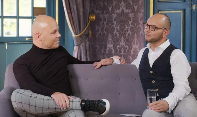 Antoine en Jeroen hielden een warme vriendschap aan het experiment over.