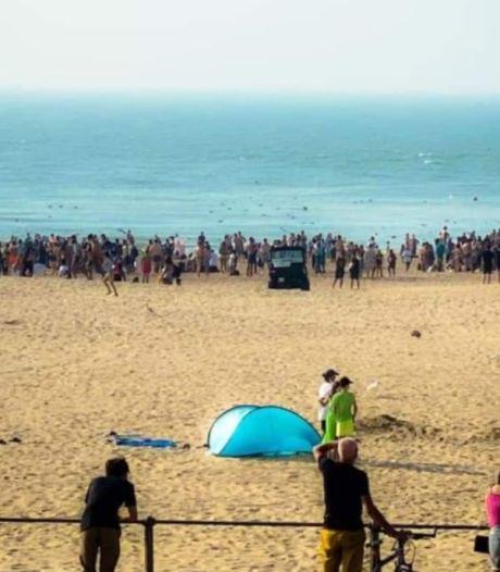 """Incident sur la plage à Ostende: """"La situation a été rapidement maîtrisée"""""""