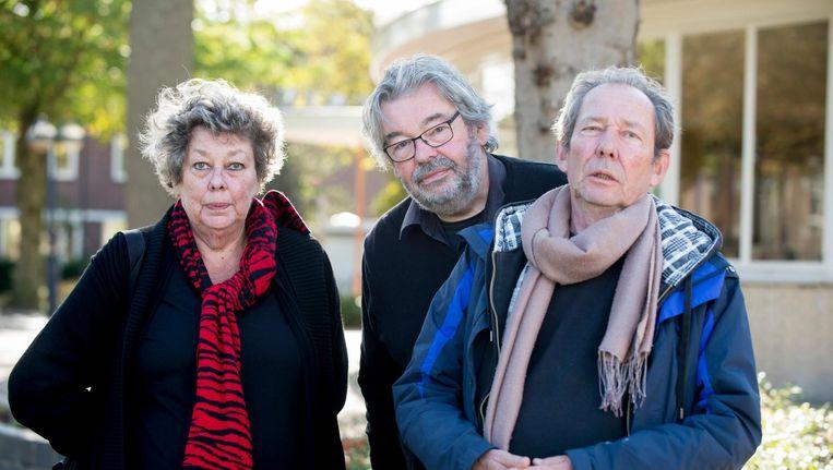 Sis, Maarten en Vincent van Rossem Beeld NTR