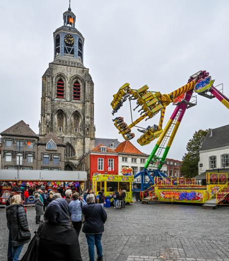 Gezellige drukte op najaarskermis in Bergen op Zoom