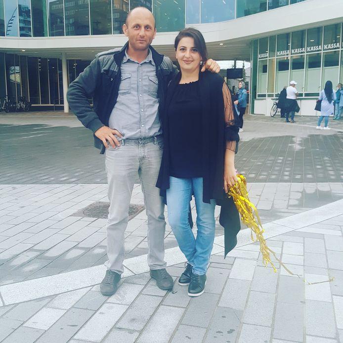 Vader en moeder Davayan