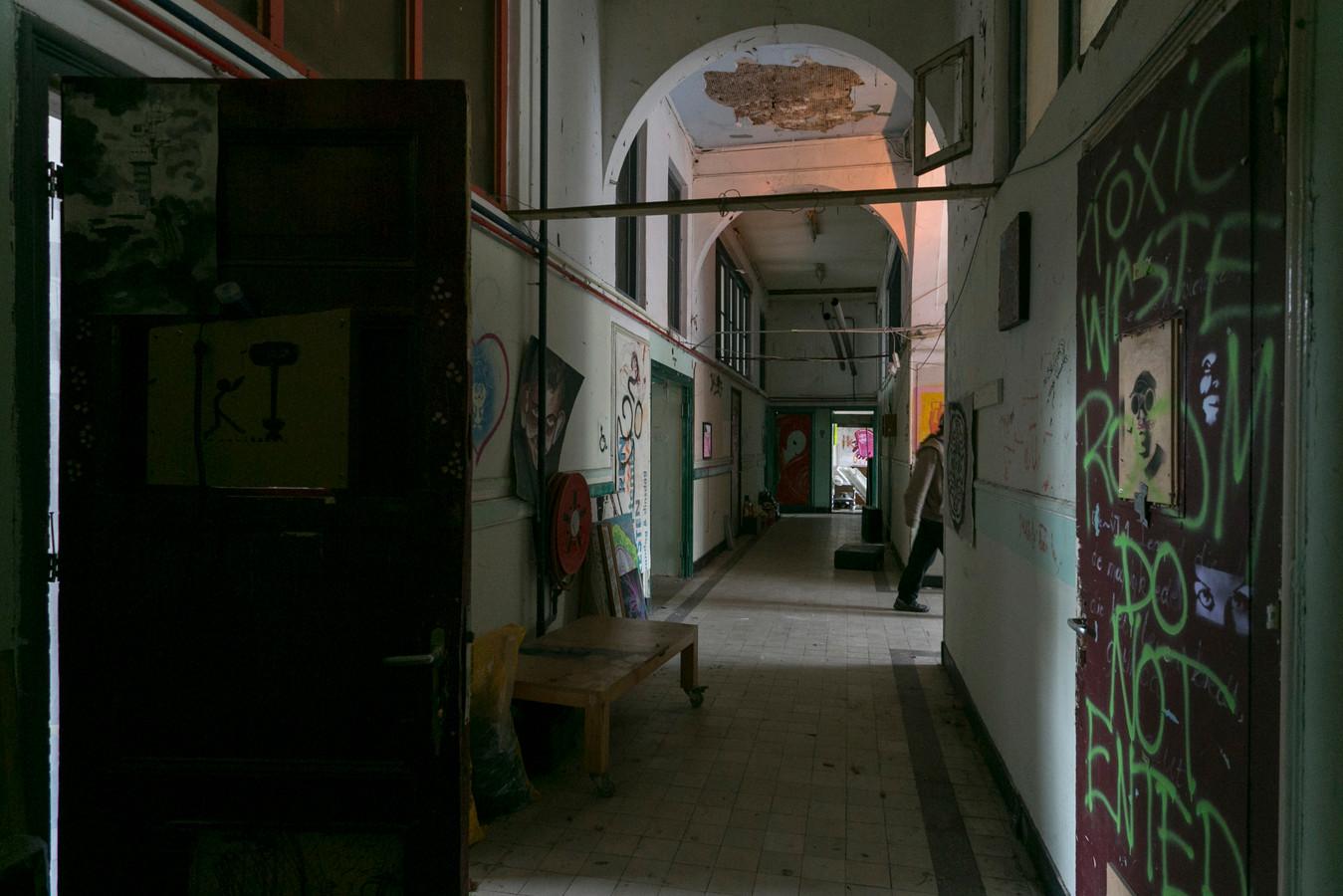 Het interieur van de Houtmanschool. (archieffoto)