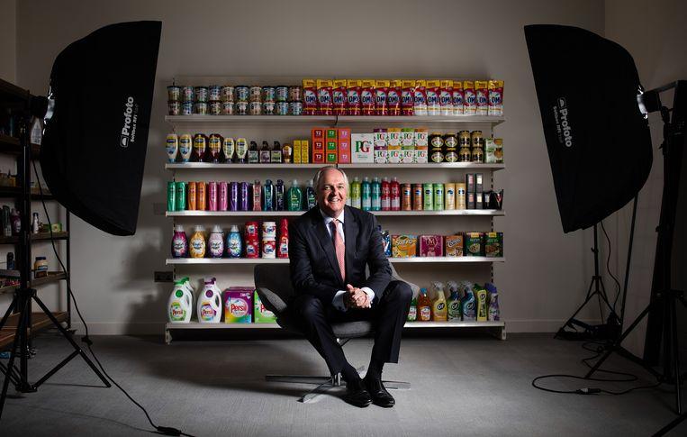 Voormalig Unilever-topman Paul Polman ondertekende de oproep van Millionaires Against Pitchforks. Beeld Bloomberg via Getty Images