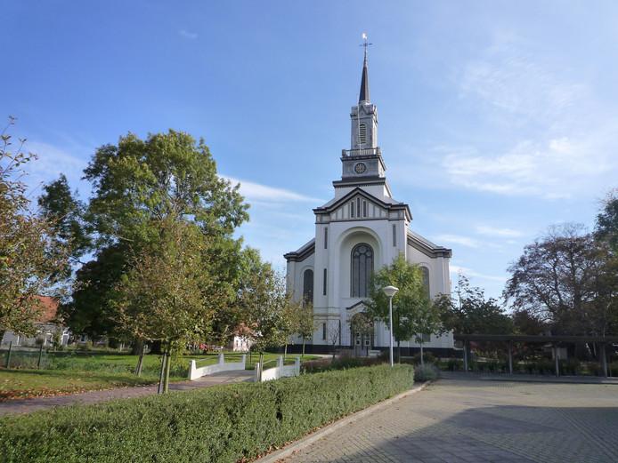 De Nicolauskerk in Wolphaartsdijk