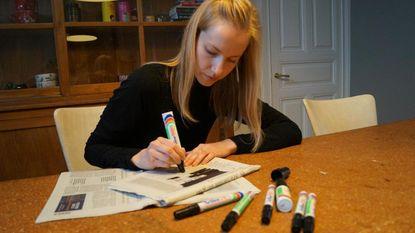 Stiftgedichten in kleinste expo Tielt