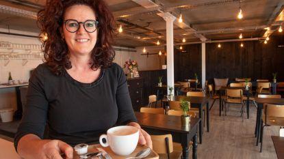 Voormalige stoffenwinkel wordt trendy koffiebar