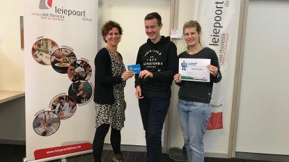 Mathis wint 100 euro door deelname aan onderzoek op school