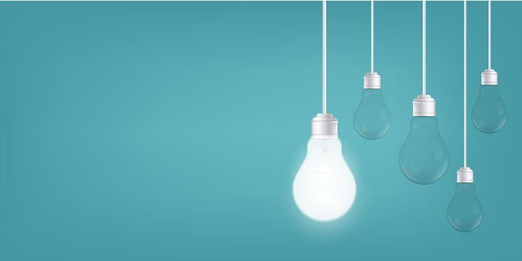 Verlichting is een van de grootste energieslurpers in huis. Beeld Shutterstock