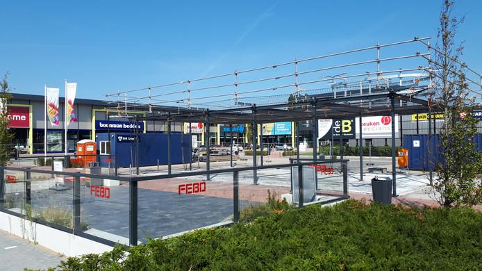 Febo in Den Bosch wordt weer opgebouwd