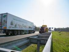 File op A58 vanuit Tilburg door stilgevallen vrachtwagen