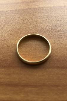 Speurtocht in Gouda naar verloren trouwring