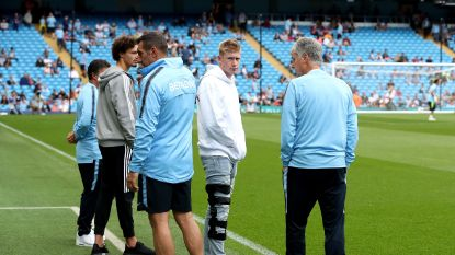 Kevin De Bruyne weet wanneer hij terug mag voetballen en dat is goed nieuws voor de bondscoach