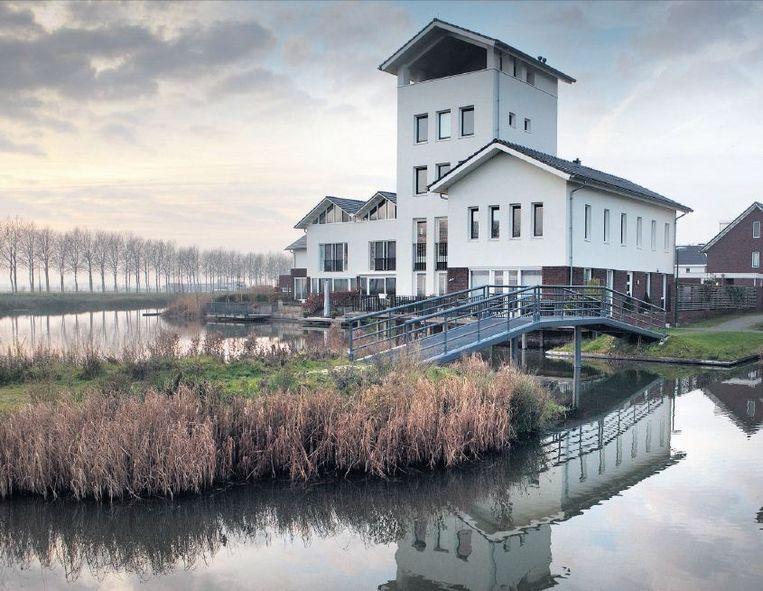 Nieuwbouw in Houten, de duurzaamste gemeente van Nederland. Beeld Maarten Hartman