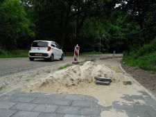 Fietspad langs Karrevenseweg in Heijen klaar, maar veilig fietsen? Ho, maar!