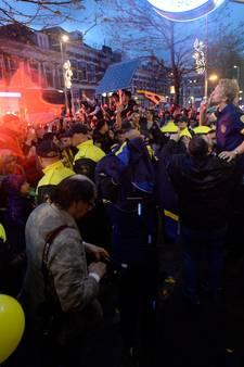 Brand in Fenerbahçe-fanshop aan Zwart Janstraat