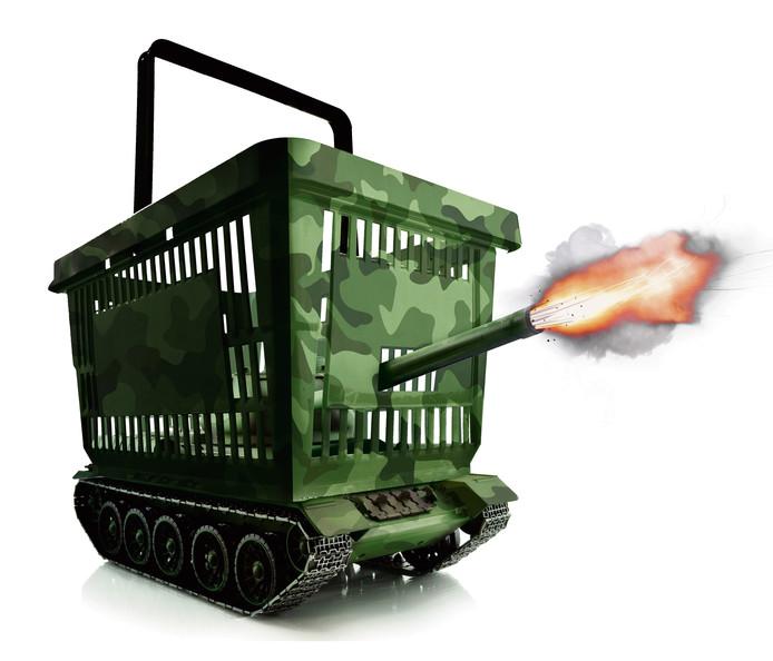 Krijgen we een nieuwe supermarktoorlog?