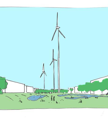 Drie heel grote windmolens Heesch West mogelijk van de baan, maar 'Eerlijk over Heesch West' ook niet blij met alternatief