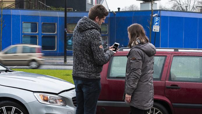 De 'Mobiel Schade Melden'-app moet het aantal geregistreerde ongevallen vergroten.