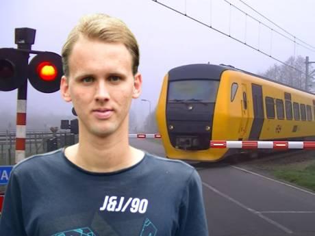 Filmpjes van trein in Laag Zuthem ruim 120 miljoen (!) keer bekeken: 'Ik had mazzel dat de mist zo hing'