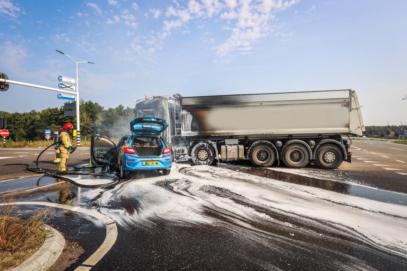 Ongeluk in Eindhoven.
