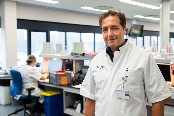 Jan Kluytmans, arts-microbioloog in Breda.