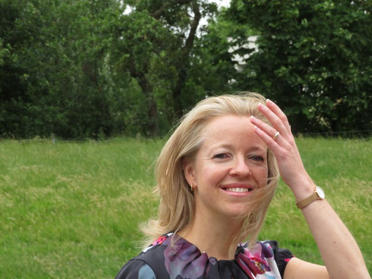 Yvonne Doorduyn: 'Alsof er in Den Haag allemaal duistere dingen gebeuren.' Beeld