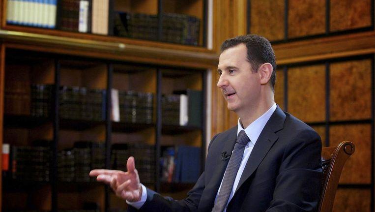 De Syrische president Bashar al-Assad. Beeld reuters