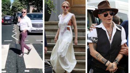 IN BEELD. Paul McCartney nodigt Kylie Minogue en Johnny Depp uit op 'zijn' zebrapad