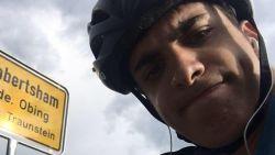 Vluchten geannuleerd door corona: student fietst in zeven weken tijd van Schotland naar Griekenland
