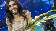 Bebaarde Conchita uit Oostenrijk wint Songfestival