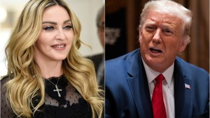 """Trump noemde Madonna """"één van de lelijkste en dikste slonzen"""", nadat ze date met hem afwees"""