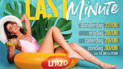Unizo houdt zomerse 'last minute shopping'