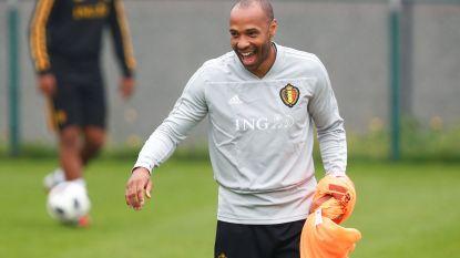 Thierry Henry imponeert op training met verrukkelijk technisch fantasietje