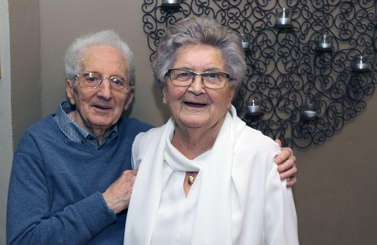 Jef Mertens en Jeanne Binnemans zijn 65 jaar getrouwd.