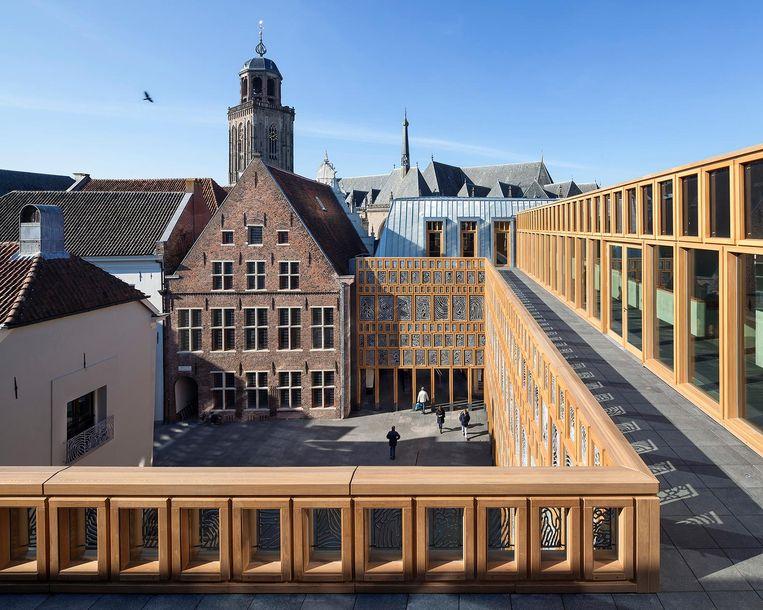 Stadhuiskwartier Deventer. Beeld