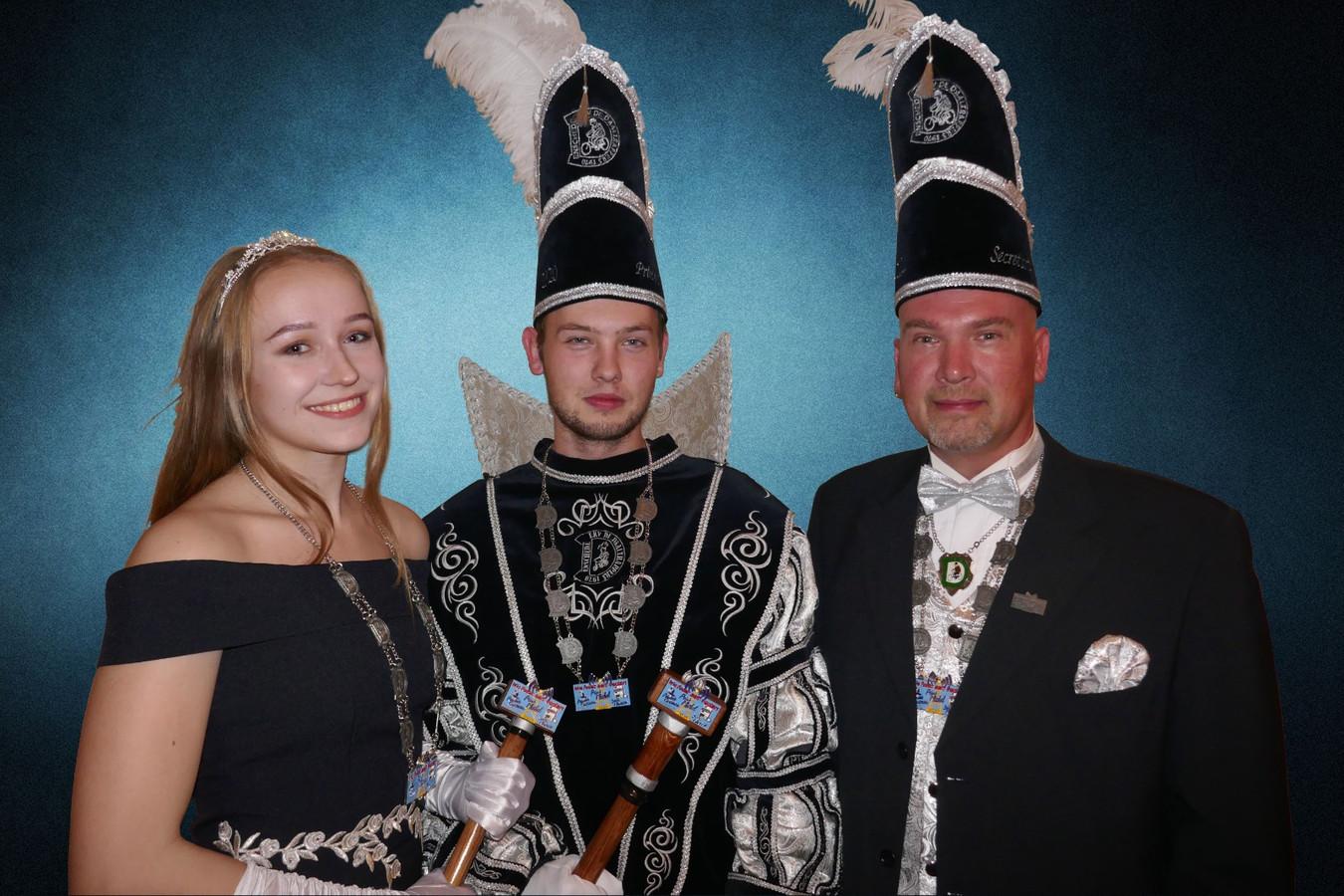 Prins Michel en Princes Carmen van de Daaltrappers