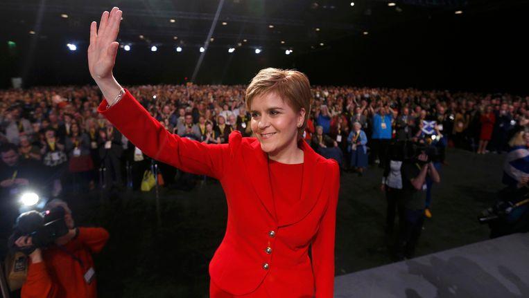 De Schotse eerste minister Nicola Sturgeon (SNP)