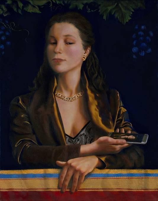 Tessa's moderne variant van Cowpers 'Vanity'.