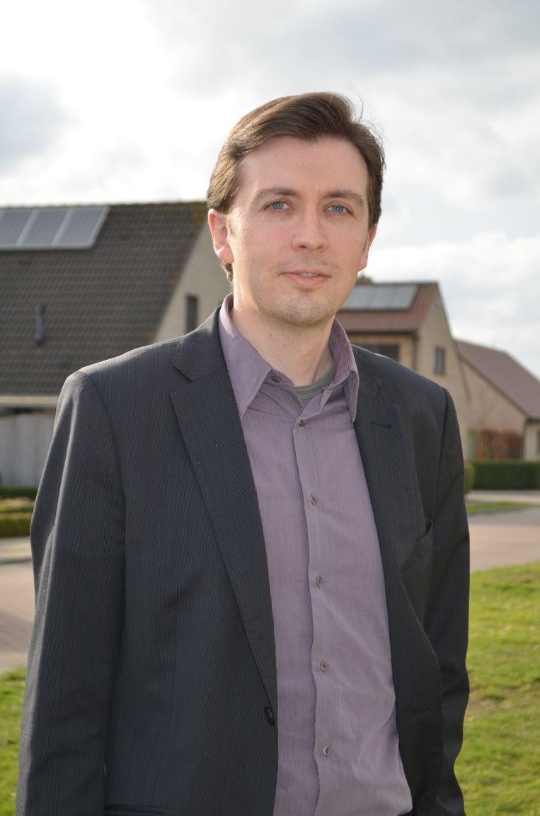 Lijsttrekker Peter Pauwels.