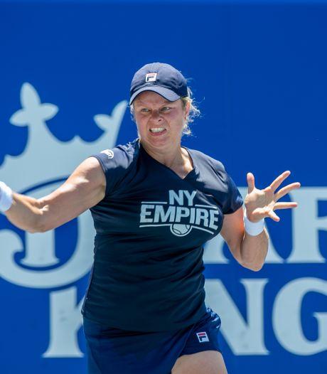 Kim Clijsters laissée au repos après cinq victoires de rang