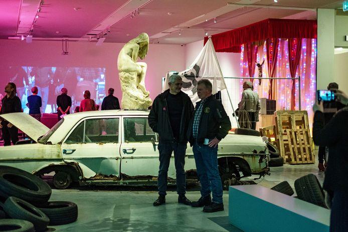 De opening van de tentoonstelling van Martin en Inge Riebeek op 15 februari, niet veel later slaat de coronacrisis toe en moet het Stedelijk Museum Breda dicht.