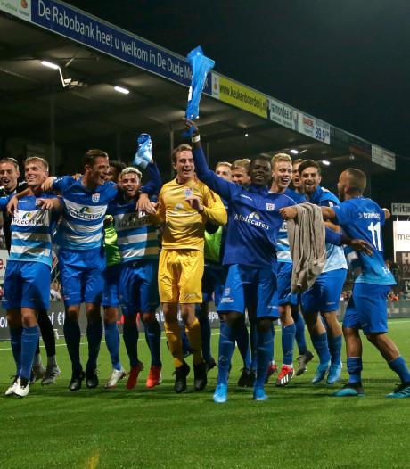 Doelpunten van PEC Zwolle zien? Kijk dan vooral de eerste helft