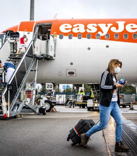 Geen ontslagen bij Easyjet op Schiphol, salarissen wel bevroren