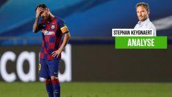 """Onze chef voetbal zag hoe het orkest van München van Barça een spotprent maakte: """"Arme Leo, lonesome cowboy in een kern zonder evenwicht"""""""