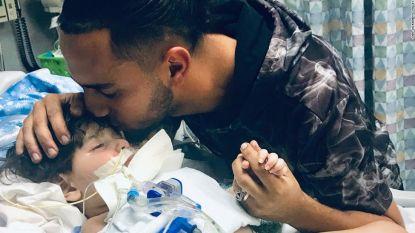 Vader hoopt dat moeder stervende zoon (2) nog één keer in haar armen kan houden, maar inreisverbod VS gooit roet in het eten