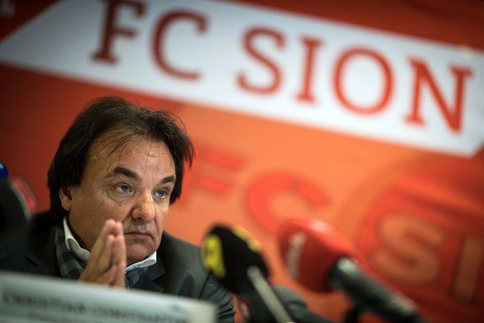 Christian Constantin, président du FC Sion