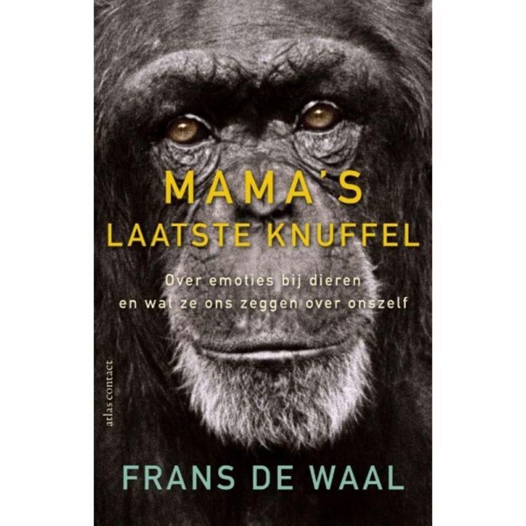'Mama's laatste knuffel, van Frans de Waal' Beeld