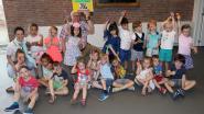 Tweede kleuterklas Basisschool Zwaneven en 5de leerjaar Basisschool Salto beloond voor gezonde levensstijl