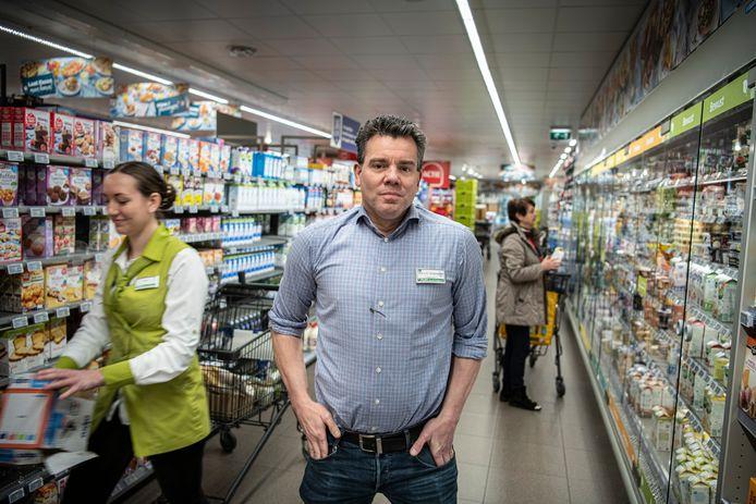 Supermarktondernemer Ard van de Huijgevoort.