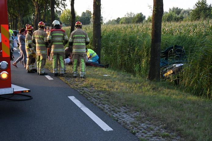 Ongeval N212 Kamerik